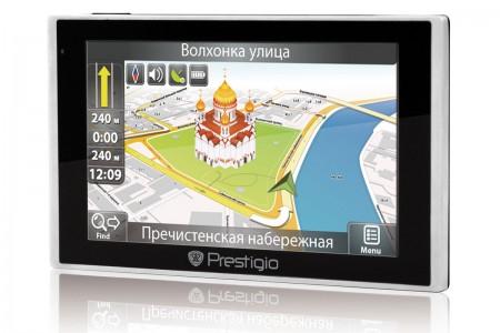 Фото - Максимальная точность: ГЛОНАСС/GPS навигатор Prestigio GV5135