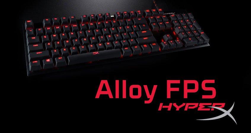 Фото - Обзор механической игровой клавиатуры HyperX Alloy FPS
