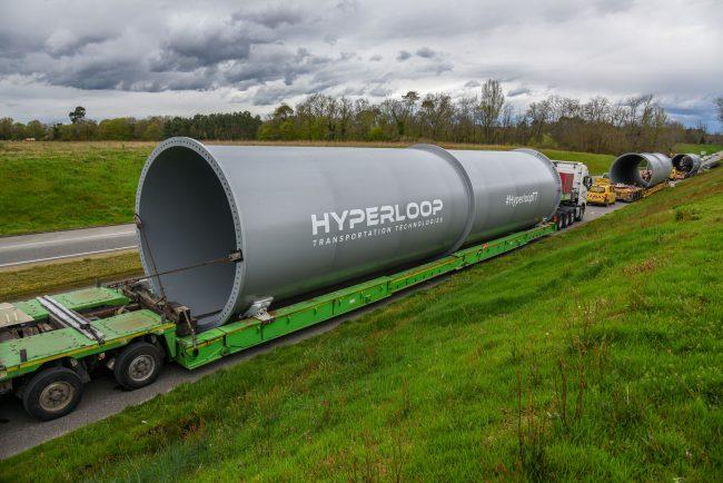 Фото - Во Франции начали строить линию Hyperloop