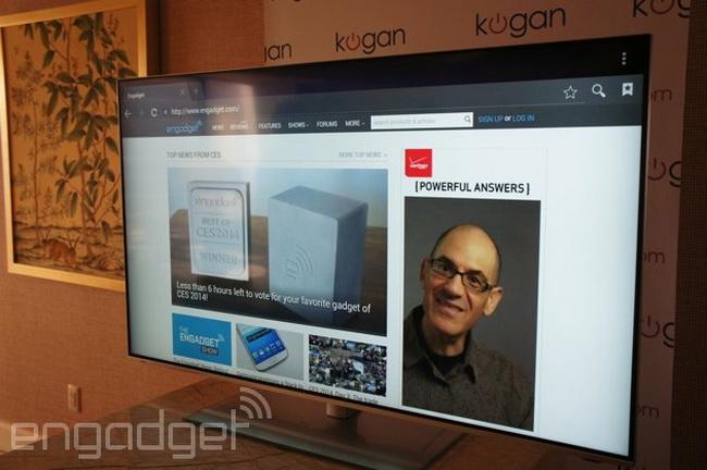 Фото - #CES | Kogan показала очень доступный 55-дюймовый 4K-телевизор за 900 долларов
