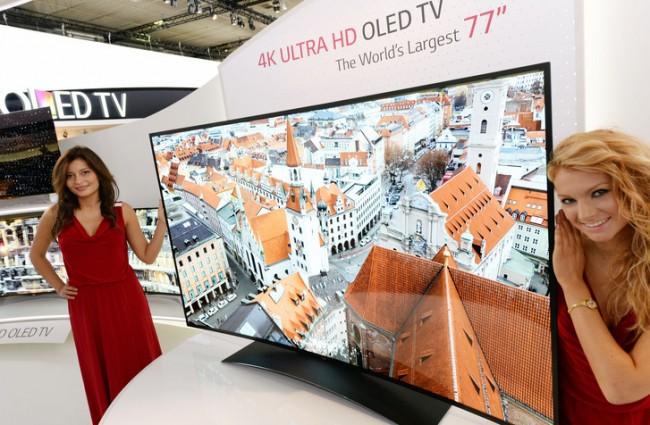 Фото - LG представила самый большой изогнутый 4K OLED TV в мире