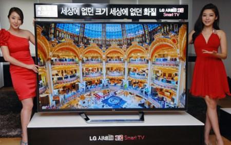Фото - LG представила 84-дюймовый телевизор 84LM9600 ультравысокого разрешения