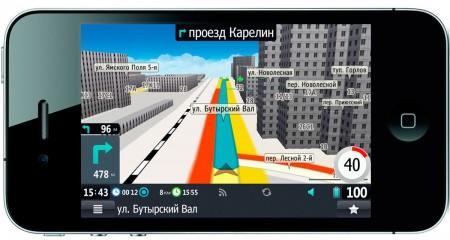 Фото - 3D-навигация с «пробками» для iPad и iPhone