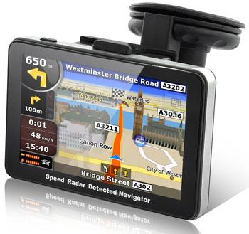 Фото - В продажу поступил GPS-навигатор RadarBot