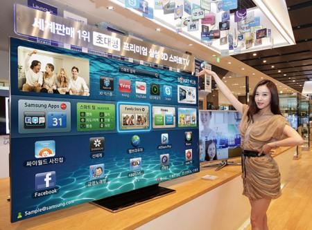 Фото - Samsung начинает продажи 75-дюймового OLED SMART TV ES9000