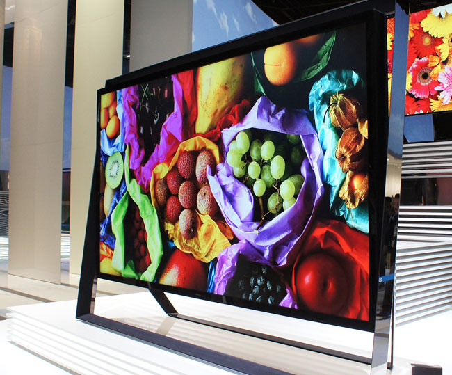 Фото - Samsung собирается начать продажу 4K-телевизора за 40 тысяч евро