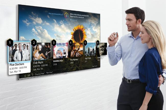 Фото - Samsung позволил управлять своими телевизорами движением пальца