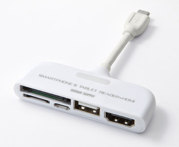Фото - Мультиформатный кардридер для смартфонов