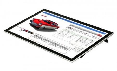 Фото - Sharp представила 20-дюймовый мультитач дисплей