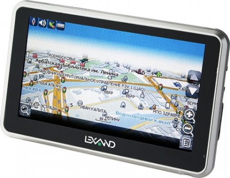 Фото - Два GPS-навигатора Lexand