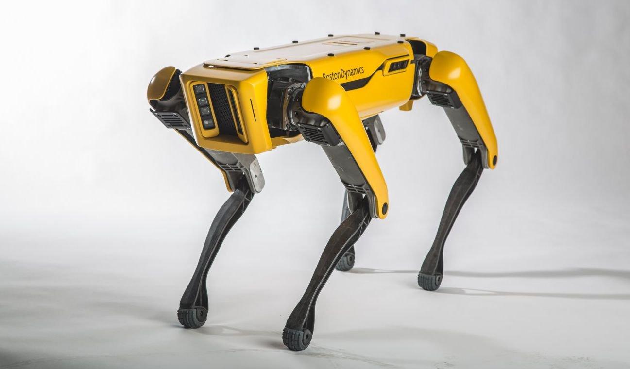 Фото - #видео дня | Робот SpotMini компании Boston Dynamics научился новым трюкам