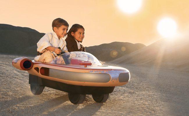 Фото - В США можно купить детскую версию лендспидера из «Звёздных войн»