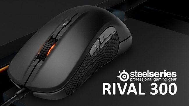 Фото - Обзор игровой мыши SteelSeries Rival 300