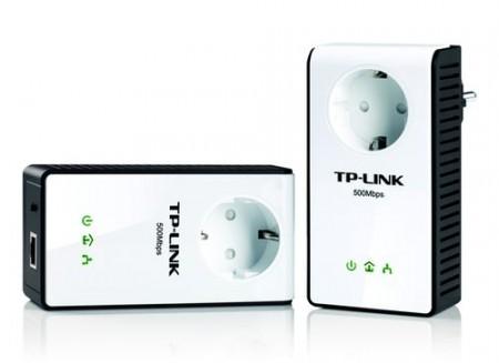Фото - Адаптеры TP-LINK Powerline со встроенными розетками