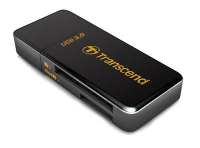 Фото - Transcend RDF5 — кардридер с поддержкой USB 3.0