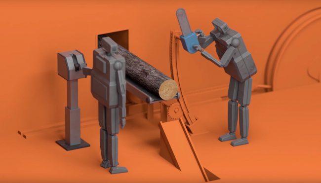 Фото - #видео дня | Грустный мультфильм о незавидной судьбе роботов-трудоголиков