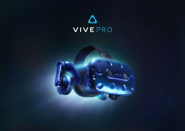 Фото - #CES 2018 | Представлена обновленная гарнитура виртуальной реальности HTC Vive Pro
