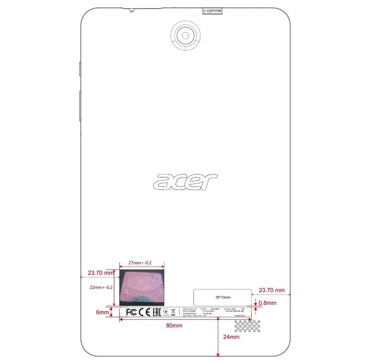 Фото - Acer готовит планшет Iconia One 8 (2018)»