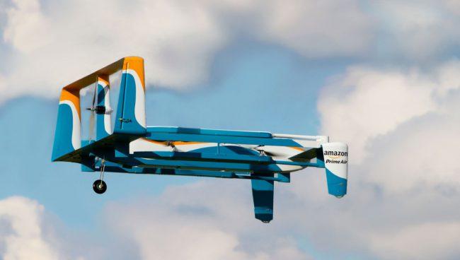 Фото - Дроны Amazon будут самоуничтожаться при аварии