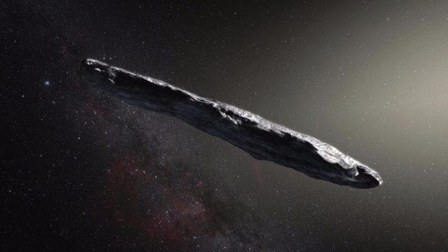 Фото - Оумуамуа не является космическим кораблем, но у него когда-то могли быть «пассажиры»