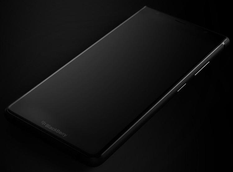 Фото - Смартфон BlackBerry Ghost Pro замечен на рендерах»