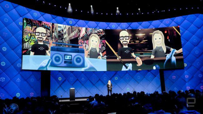 Фото - Компания Facebook интегрировала виртуальную реальность в свою социальную сеть