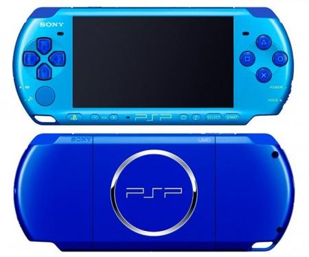 Фото - Sony PSP с новым цветом корпуса