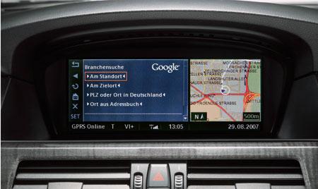 Фото - Google Maps появится на GPS-навигаторах автомобилей BMW