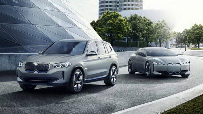 Фото - BMW представила полностью электрический кроссовер iX3