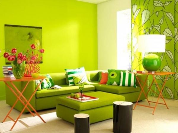 Фото - 7 советов по использованию зеленого цвета в интерьере + фото