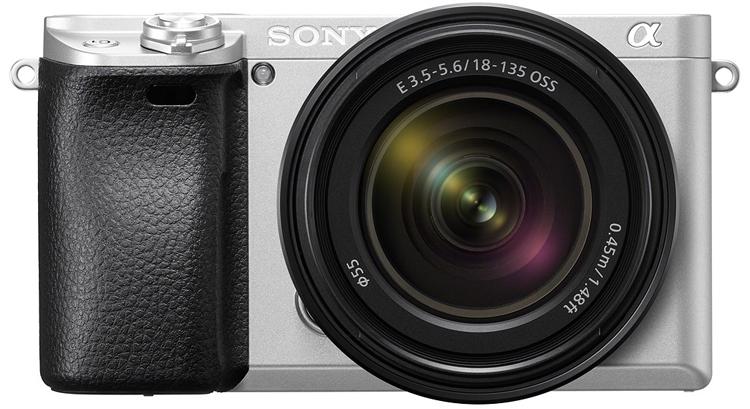 Фото - Беззеркальная фотокамера Sony α6300 предстала в серебристом исполнении»