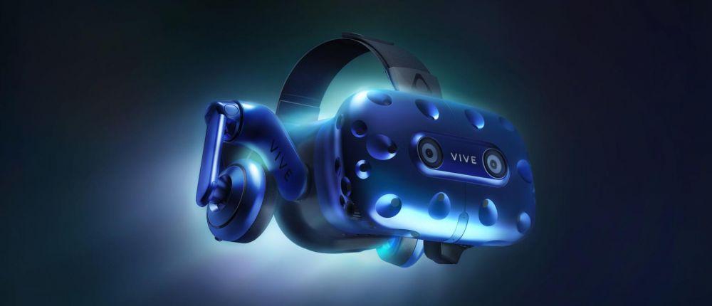 Фото - CES 2018: HTC представила новую VR гарнитуру Vive Pro