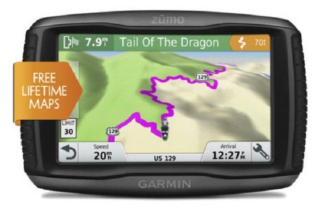 Фото - Garminzumo 395LM и 595LM: GPS-навигаторы для мотоциклов»
