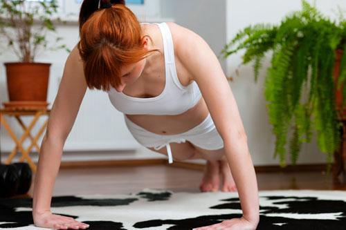 Фото - Занятия спортом в домашних условиях