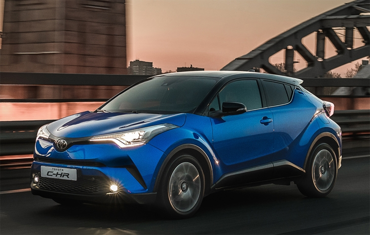 Фото - Городской кроссовер Toyota C-HR выходит на российский рынок»