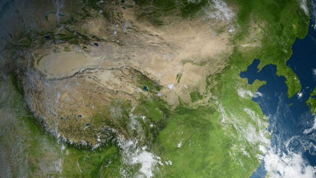 Фото - Китай строит «фабрику дождя» размером в три Испании