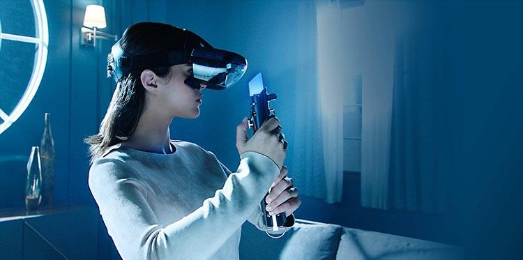 Фото - Lenovo создала шлем дополненной реальности для игр в духе «Звёздных войн»»