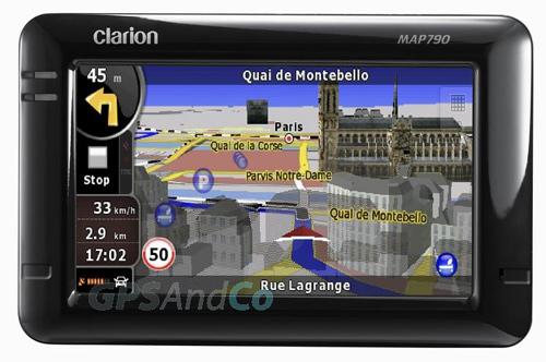 Фото - CeBIT 2009: GPS устройства Clarion MAP 690 и Clarion MAP 790