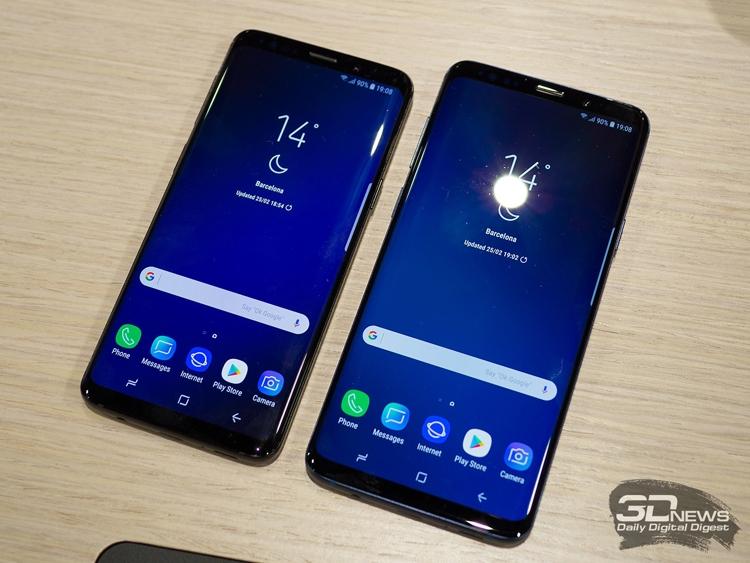 Фото - Аппараты Samsung Galaxy S9 стали самыми продаваемыми в мире смартфонами»