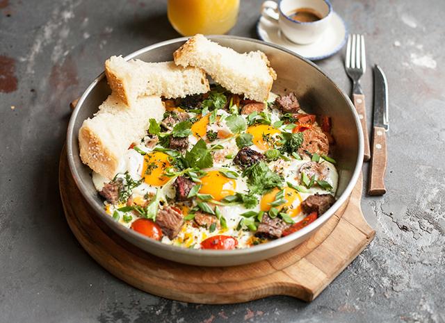 Фото - Рецепт для воскресного завтрака: техасская яичница