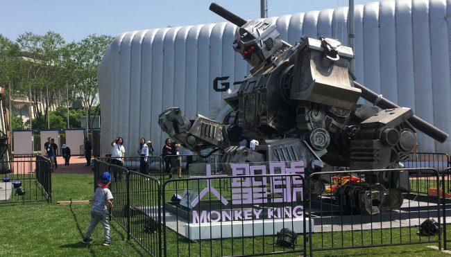 Фото - Китай примет участие в битве гигантских боевых роботов