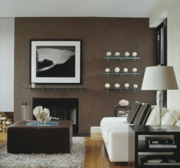 Фото - 6 советов по использованию коричневого цвета в интерьере + фото