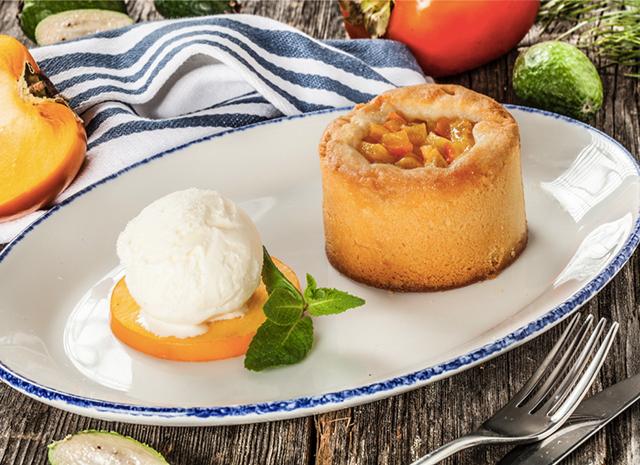 Фото - Рецепт для воскресного завтрака: теплый пирог с хурмой