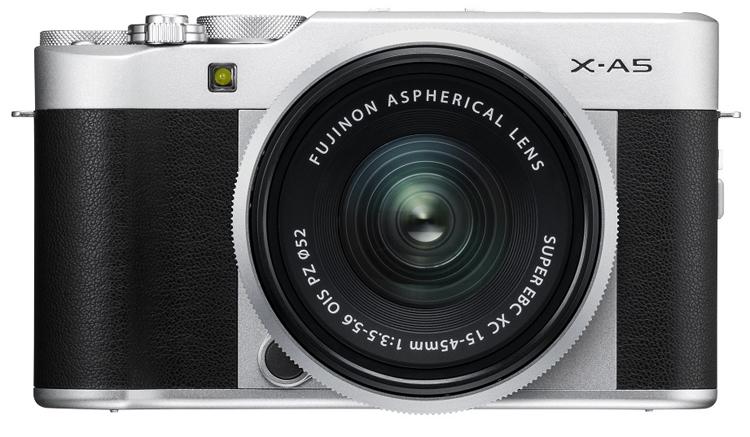 Фото - Fujifilm X-A5: беззеркальный фотоаппарат с поддержкой 4К-видеозаписи»