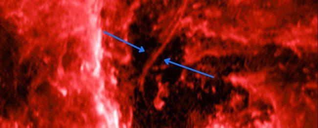 Фото - Рядом с центром Млечного Пути обнаружена странная «нить»