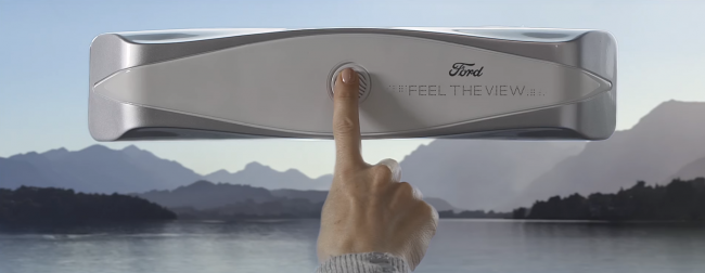 Фото - Ford представил стекло, которое позволит слепым «увидеть» пейзаж за окном автомобиля