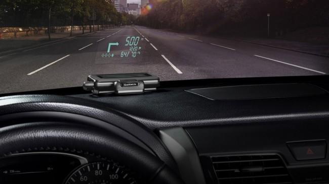 Фото - Garmin выпустила автомобильный проекционный дисплей