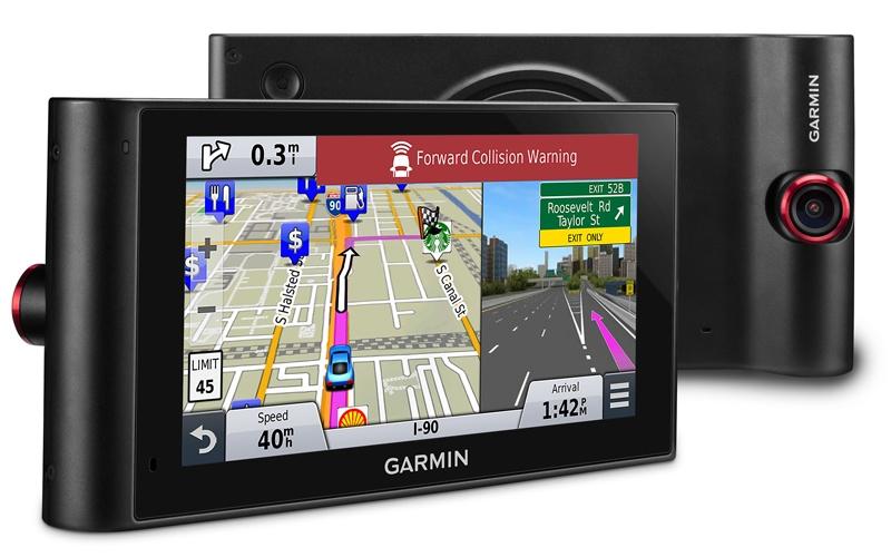 Фото - Garmin nuviCam LMTHD: автомобильный навигатор с функциями видеорегистратора»