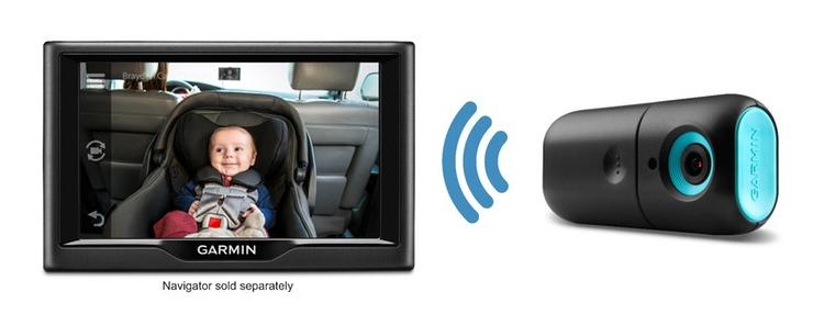 Фото - Garmin babyCam: автомобильная камера для мониторинга детей»