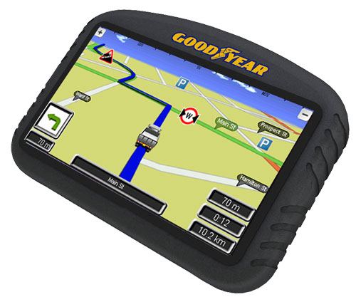 Фото - Навигационная система для грузовиков Goodyear GY500X поступает в продажу